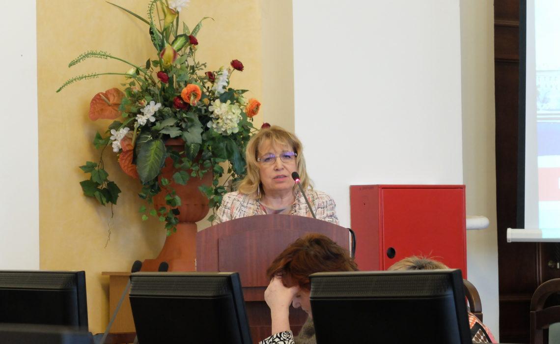 Конференция Адмиралтейского районного комитета 11 февраля