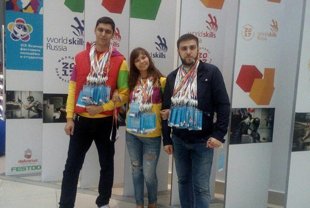 Делегация Санкт-Петербургского отделения Ленинского комсомола прибыла на Всемирный фестиваль молодёжи и студентов!