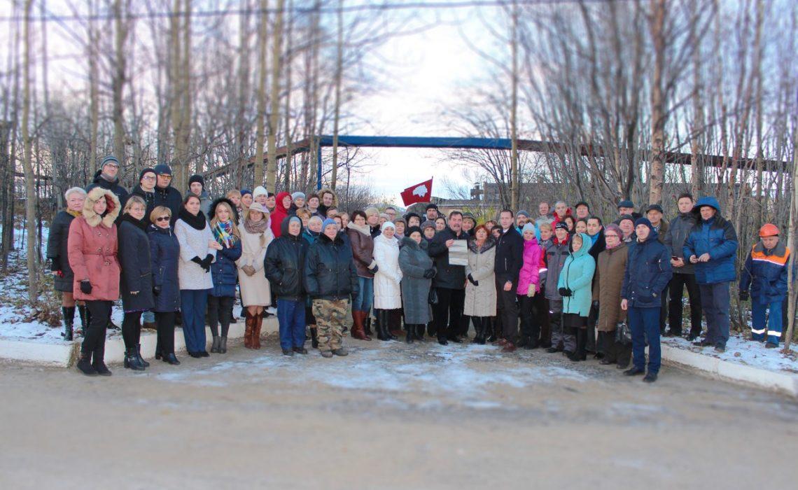 Секретарь райкома по рабочему и профсоюзному движению Егор Михайлов принял участие во вскрытии капсулы комсомольцам 2017 г. и провёл встречу с рабочими 35 СРЗ
