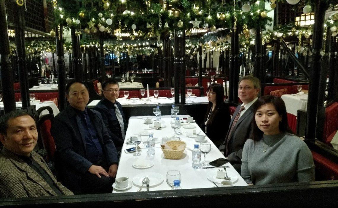 В ресторане «Санкт-Петербург» состоялась встреча с китайской делегацией