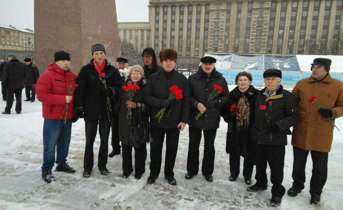 Прошлое, настоящее и будущее России связаны с именем В.И. Ленина