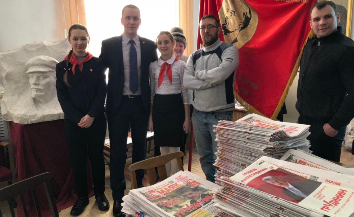 Ленинградские коммунисты поддерживают кампанию Павла Грудинина в других регионах