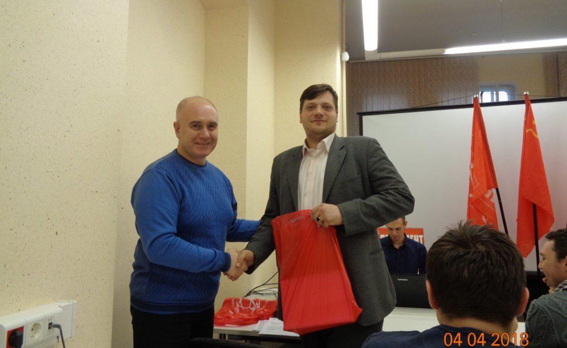 Состоялся Пленум районного комитета