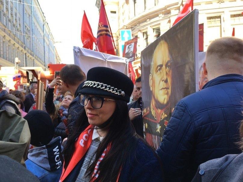 Коммунисты Адмиралтейского района приняли участие в шествии