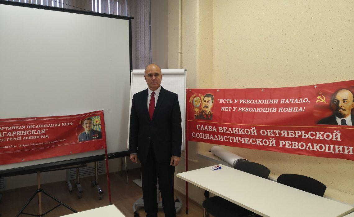 Геннадий Денисов: Льготы блокадников детям войны!